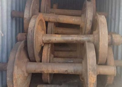 Railway Wheels & Axles
